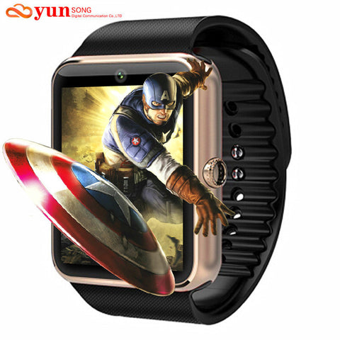 Smart watch With Camera Support for Apple iPhone IOS Android Phone