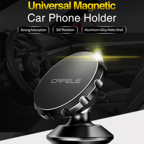 Universal Magnetic Car Mobile Phone Holder 360 Rotating