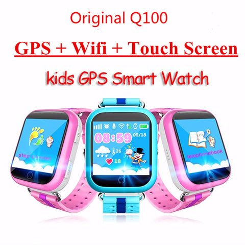 kids GPS Wifi Location Smart Watch child SOS Call Anti-Lost Device