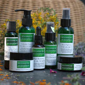 botanical blessings full product range