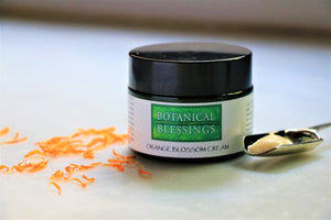 Botanical Blessings Orange Blossom Face Cream