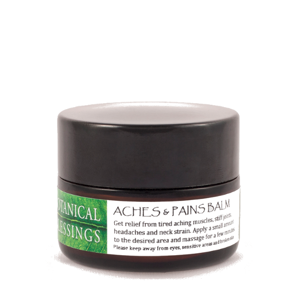 Botanical Blessings  pain relief for aches and pain