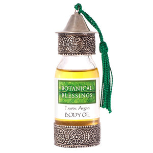 Botanical Blessings argan exotic body oil