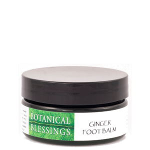 botanical blessings ginger foot balm