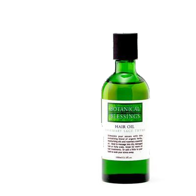 Botanical Blessings hair oil