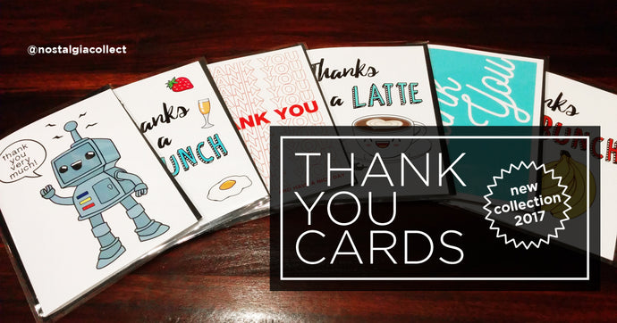 New Collection: Thank You Cards