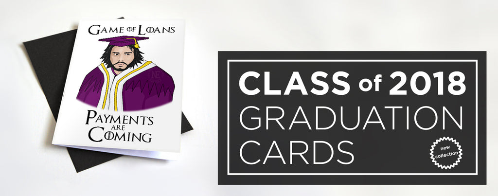 class of 2018 grad cards