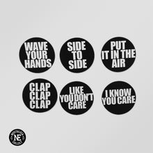 Seven Eleven Hip Hop Magnet Set: Wave Your Hands, Side to Side