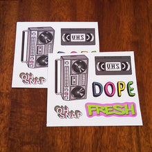 90's Kid Sticker 4 Pack