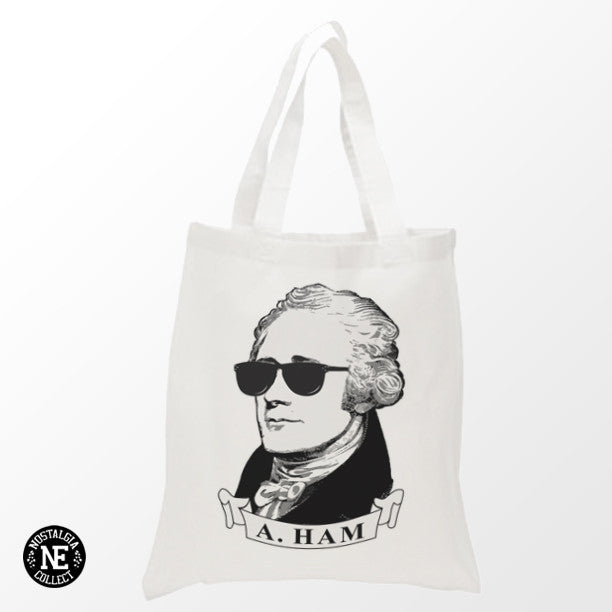 Alexander Hamilton Shopping Tote Bag