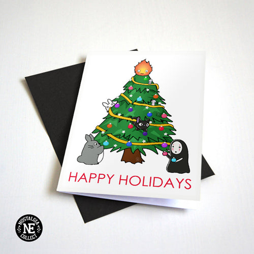 Cute Cartoon Christmas Card