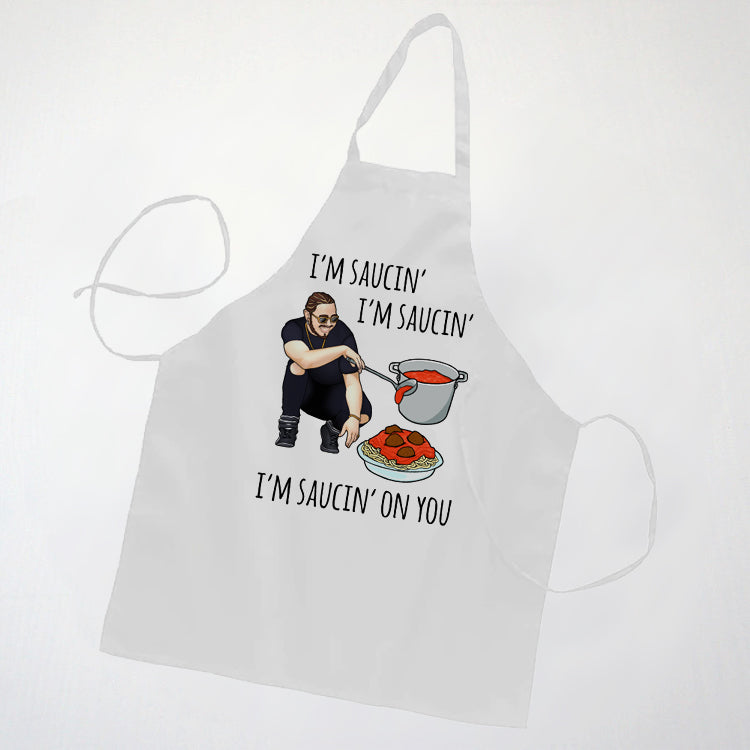 Saucin' On You Cooking Apron