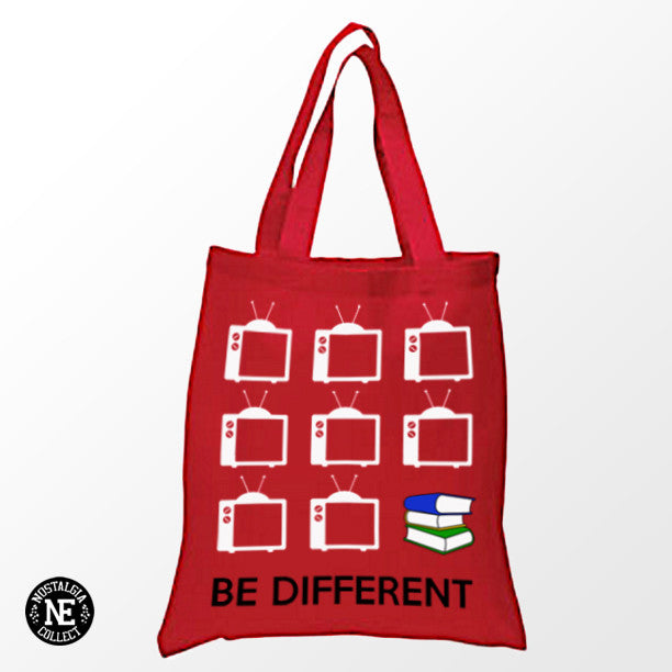 Be Different Shopping Tote Bag