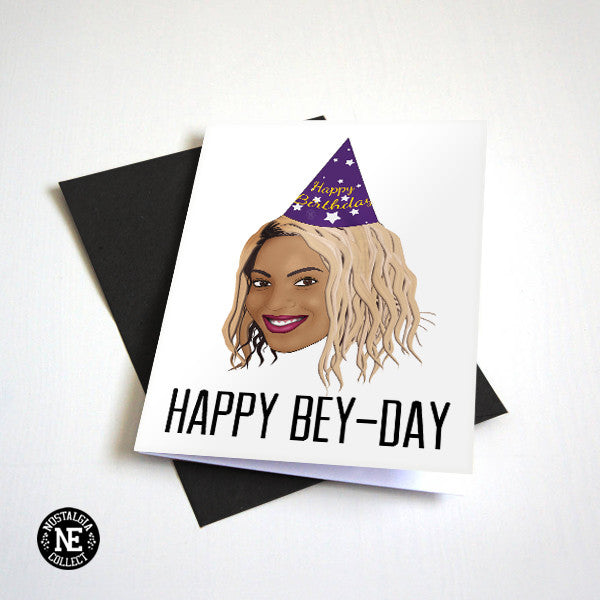 Happy bey day funny birthday card for girlfriend or bff b day happy bey day funny birthday card for girlfriend or bff b day greeting bookmarktalkfo Images