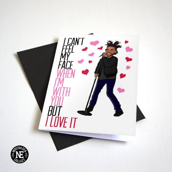 When I'm With You, I Love It - Hip Hop R&B Valentine's Day Card