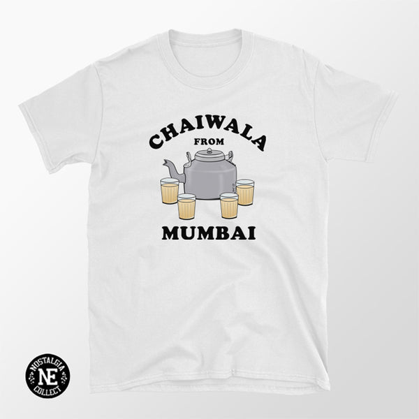 Chaiwala From Mumbai Shirt - Chai Tea Lovers