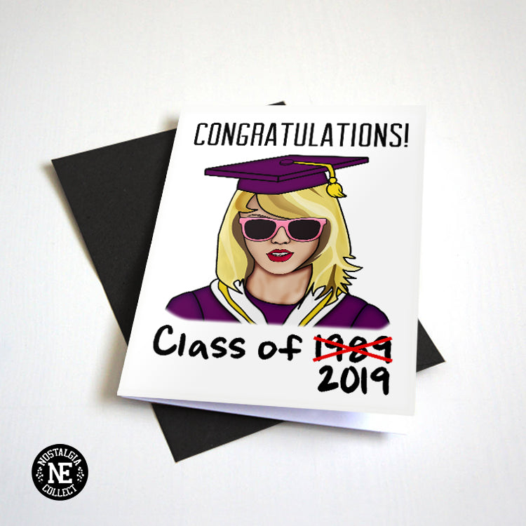 Congratulations Class of 1989 - Highschool Graduation Card