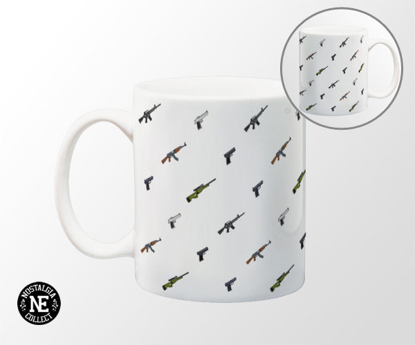 Pistols & Rifles 11 oz Coffee Mug