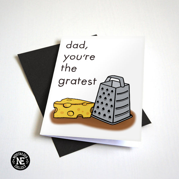Dad You're The Greatest - Father's Day Card