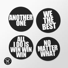 Motivating Hip Hop Magnet Set: Another One, We the Best