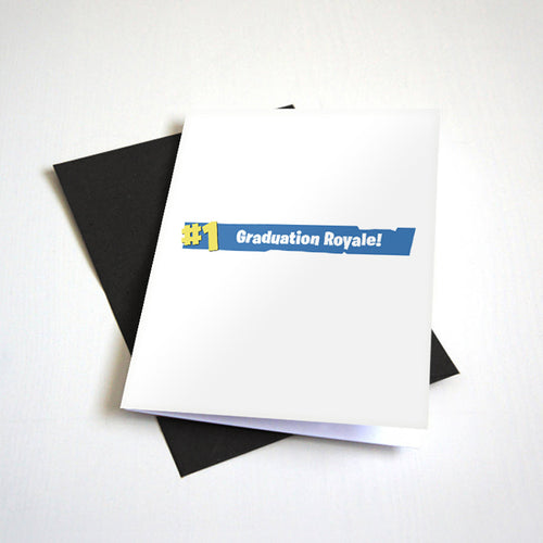 fortnite graduation card