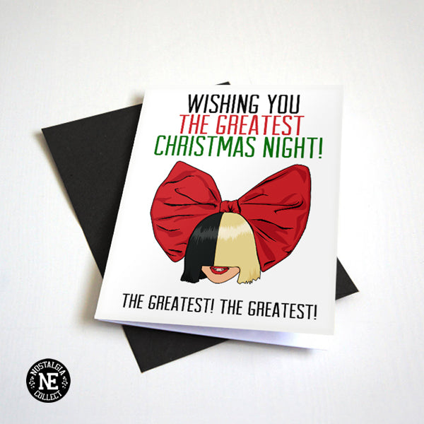 Wishing You the Greatest Christmas Night - Greeting Card