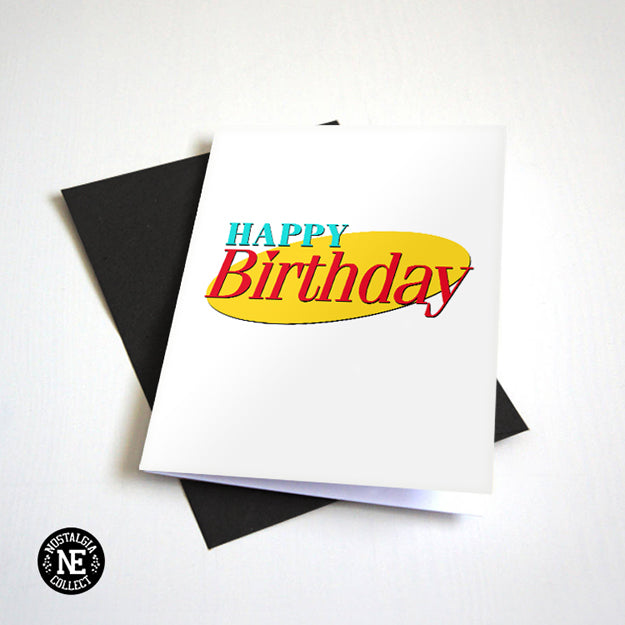 Seinfeld Birthday Card -