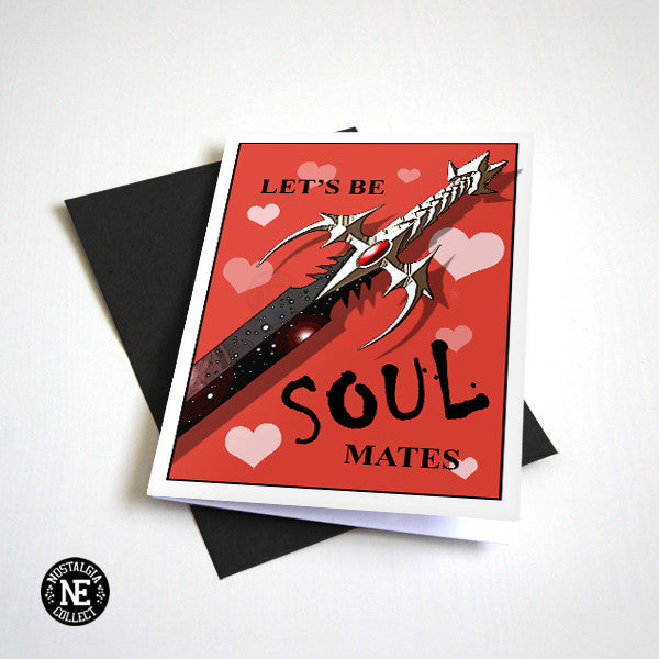 Let's Be Soul Mates - RPG Valentine's Day Card