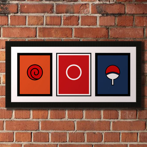 Team 7 Clan Sigil Poster Print 3 Pack - 8X10