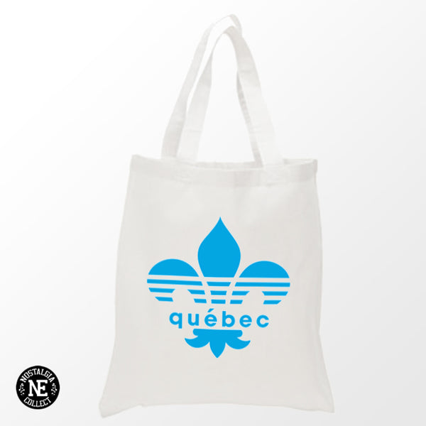 Quebec Canada - White Shopping Tote Bag
