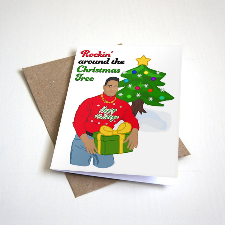 Rocking Around The Christmas Tree Meme Christmas Card Nostalgia