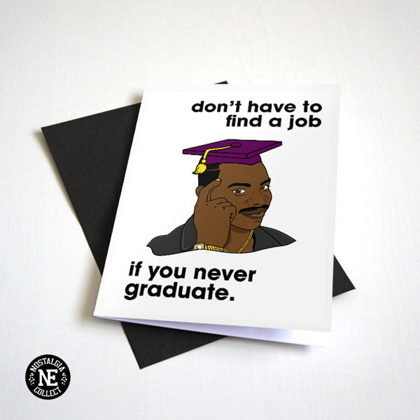 Rollsafe Meme Graduation Card