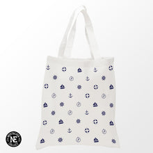 Sailor Pattern Tote Bag - Shopping Bag