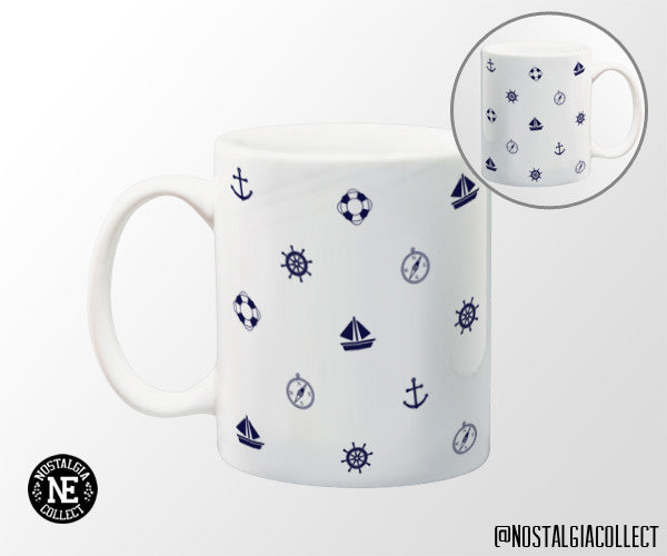 Sailor Themed 11 oz Coffee Mug