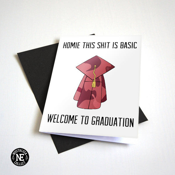 Kanye West Graduation Card