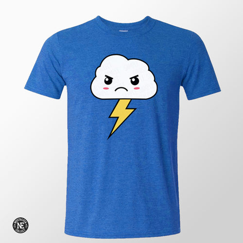 kawaii angry cloud shirt