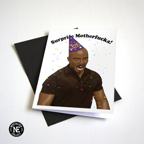 Happy Birthday Surprise Motherf**ka! - Meme Birthday Card