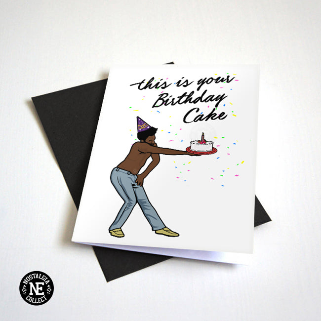 This Is Your Birthday Cake - Birthday Card