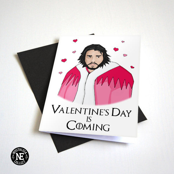 Valentine's Day is Coming - Funny Valentine's Card - TV Show Card