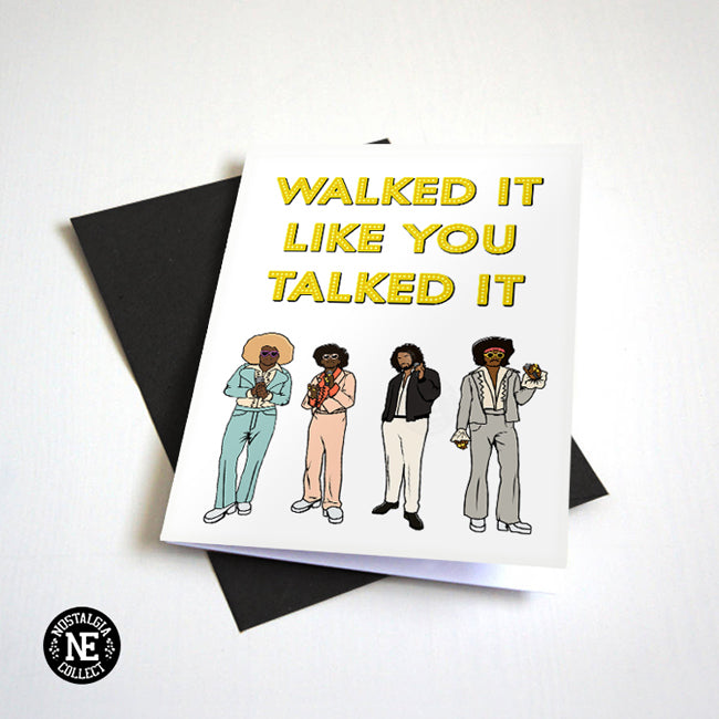 walk it card
