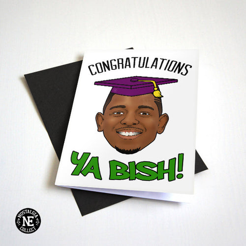 Kedrick Lamar Graduation Card by Nostalgia Collect