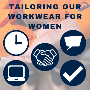 Tailoring our workwear for women