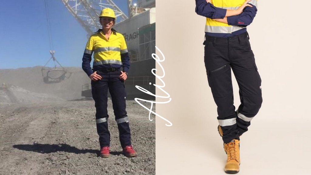 women's work cargo pants hi vis ladies workwear co gear