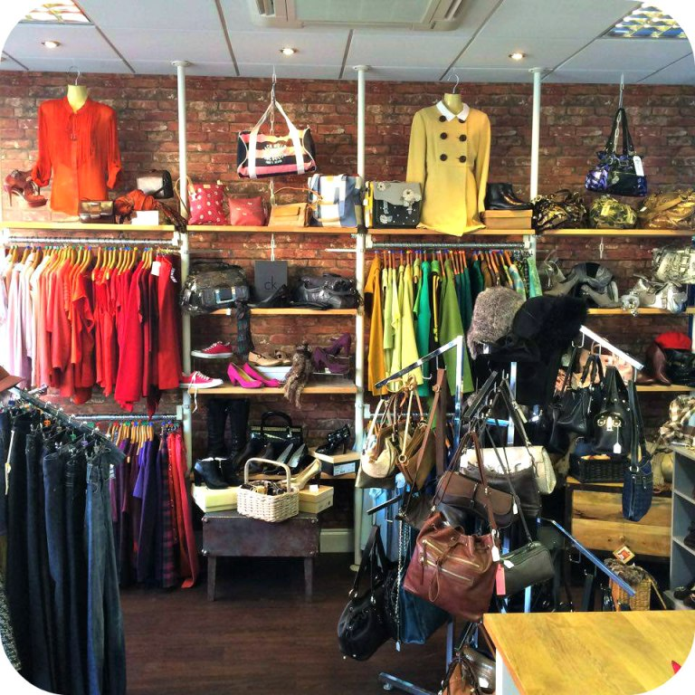Charity Op Shop Second-hand Recycle Re-use Hi Vis Women's Workwear