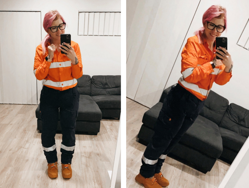 self-love body positivity image co gear confidence womens workwear hi vis fifo