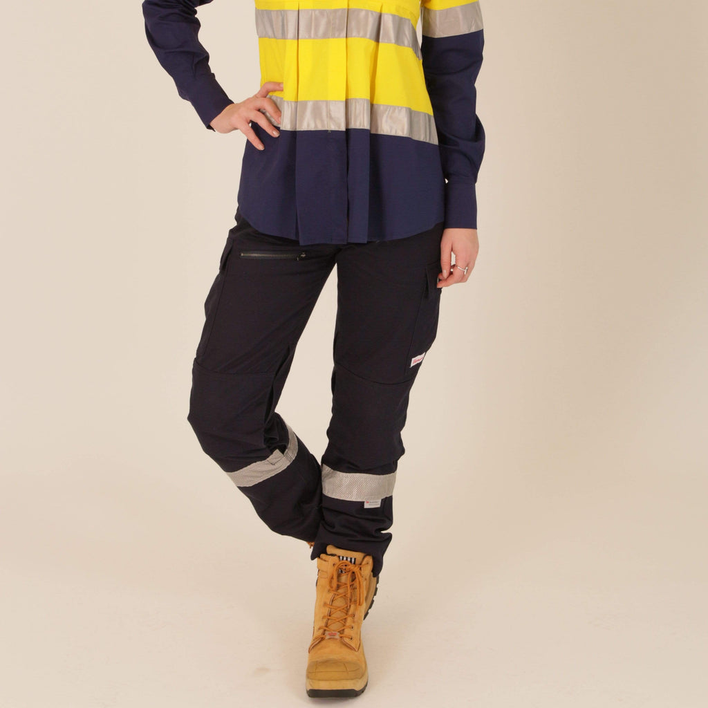 cargo pants for women, navy blue cargo pants, maternity work pants, maternity hi vis cargo pants, maternity hi vis work pants, hi vis for pregnancy, ladies maternity pants, ladies work pants, women's cargo pants, maternity workwear, outdoor work pants, women's workwear afterpay, free shipping