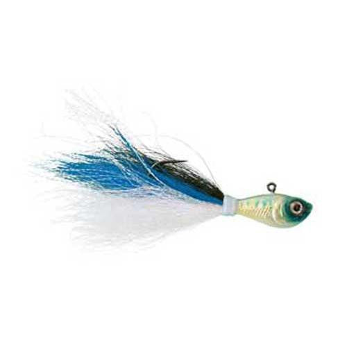 Wahoo Baitfish Bucktail Jig 1/2oz Blue Shad