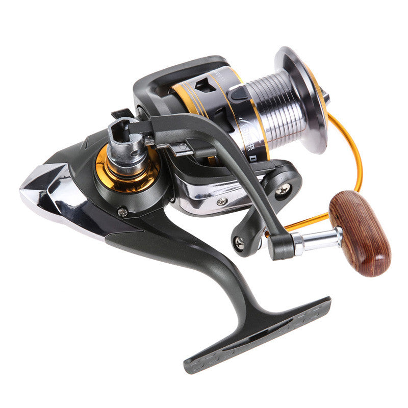 Saltwater Spinning Fishing Reel 5.2:1 Speed Gear Spool