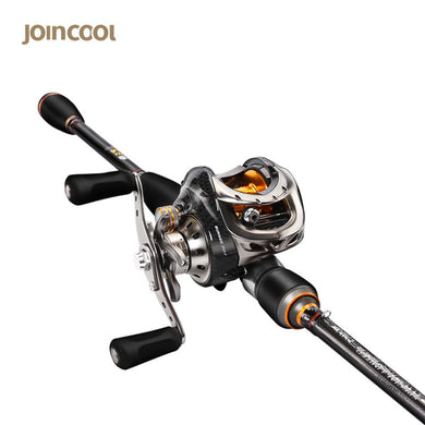 Joincool MWS Baitcasting Rod Reel Combo 1.8M 2.1M with 9+1BB Baitcasting Reel 7.0:1 Carbon Ultra Light Telescopic