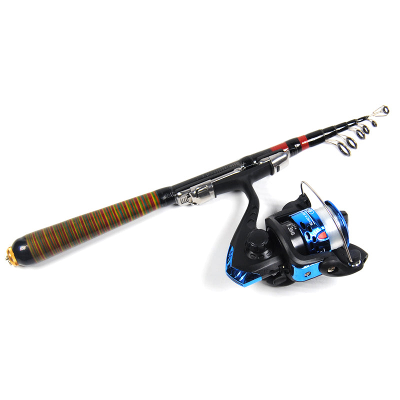 Rod & Spinning Reel Combo Set for Travel & Leisure